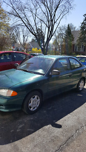 1998 Hyundai Accent - only 135k!