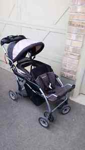 Sit and Stand Double Stroller