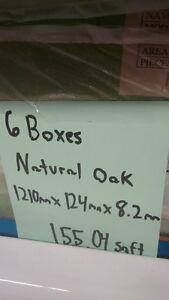 Natural Oak Laminate Floor