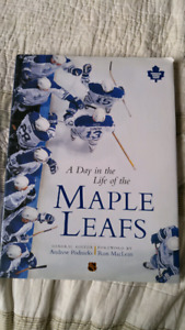 A day in the life of the Maple Leafs hardcover book