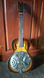 Vintage American Made 1933 Model 14 Dobro Patant# 1,896,484