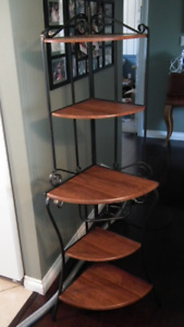 bakers shelf corner unit