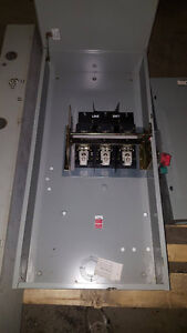 Heavy Duty GE 600v 400 amp 350 HP Non Fusible Disconect Switch Windsor Region Ontario image 3