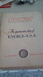 Power The Spectacular Story of Energy - USA 1957 Kitchener / Waterloo Kitchener Area image 1