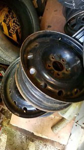 "4 - 16"" steel wheels  5x114.3 $60"