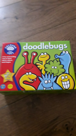 Orchard Toys doodlebugs game.