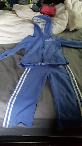 Sz 4 Adidas jogging suit