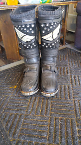 (Youth) fly dirt bike boots