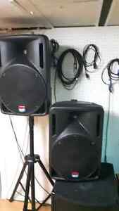 SPEAKERS AMPLIFIES DB TECNOLOGIC BASIC 400.