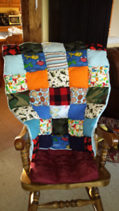 Canadian baby boy quilt