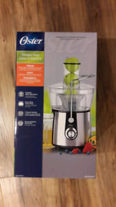 Oster fruit and vegetable juicer