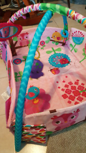 Play mats, jolly jumper and baby jogger stroller