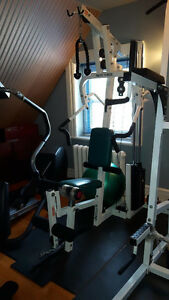Pacific Fitness Zuma Home Gym - Weight Station / Leg Press 160lb
