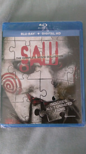 Saw: the complete movie collection bluray brand new sealed hd