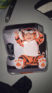 BABY/TODDLER HALLOWEEN TIGER COSTUME * 12-24 MOS * EX CONDITION