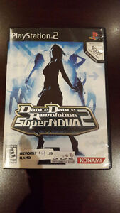 PS2 - Dance Dance Revolution 2 Supernova (Case/Manual Included)