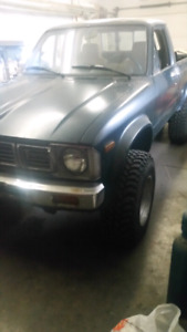 81 toyota(4x4 short bed)