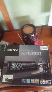 Sony cd player Bluetooth mic and remote and usb