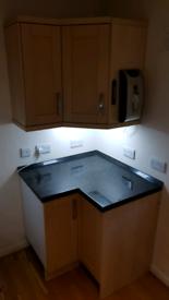 Kitchen Corner Cabinet Set