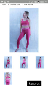 Rose Fitness Apparel pro fitness outfit