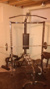 free weight gym system