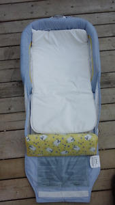 Co sleeper portable baby bed