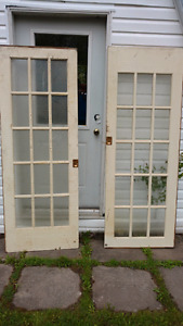 Pocket doors $100