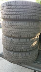 245/60/18 Michelin Latitude Used one season