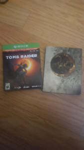 Xbox one Limited edition  shadow of the tomb raider