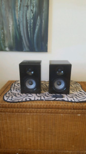 Earthquake iq-52  powerd nearfeild studio monitors