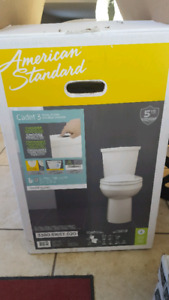 New toilet American Standard