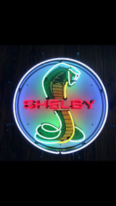 New neon Shelby sign