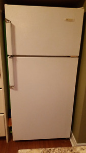 White Refrigerator- Great for smaller size areas