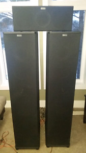 Nuance Babygrand Universe SE towers & center speaker
