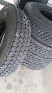 Tires for semi tractor