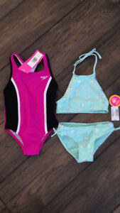 Brand new size 6 bathing suits
