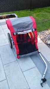 Chariot pour enfants de velo Nakamura simple ou double