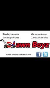 Lawn Boyz now booking! Free Estimates!