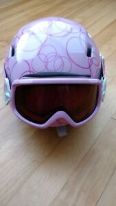 Girl's Youth Helmet & Goggles Combo - Size Small - Smith Galaxy