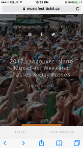 Vancouver Island Music Festival (Full 3 day pass)