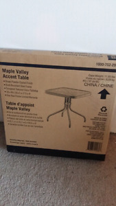 Maple Valley Accent Table New In Box
