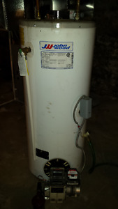 oil hot water tank