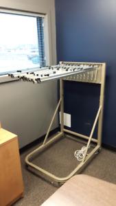 Blueprint Rack/Plan Rack/Mobile Vertical Filing Stand