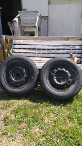 2 - Honda rims and winter tires