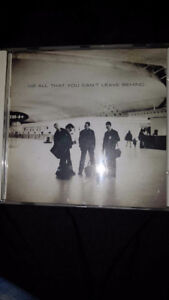 U2 CD: All That You Can't Leave Behind