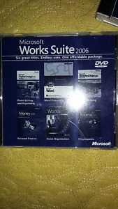 Microsoft Works Suite 2006 x 2 sealed, never opened