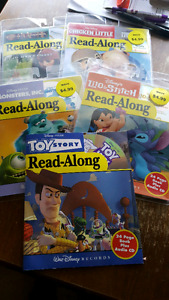 Read along CD and books - 5 available $2 for all