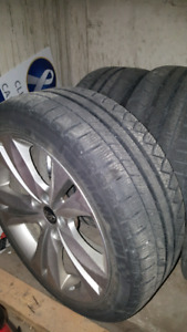 """18"""" wheels with winter tires"""