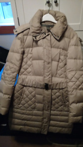 Down filled coat