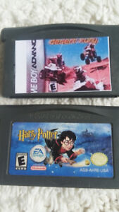 Jeux GAME BOY ADVANCED : HARRY POTTER / QUAD DESERT FURY